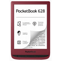 Электронная книга PocketBook 628 Touch Lux 5 Ink Ruby (Red)