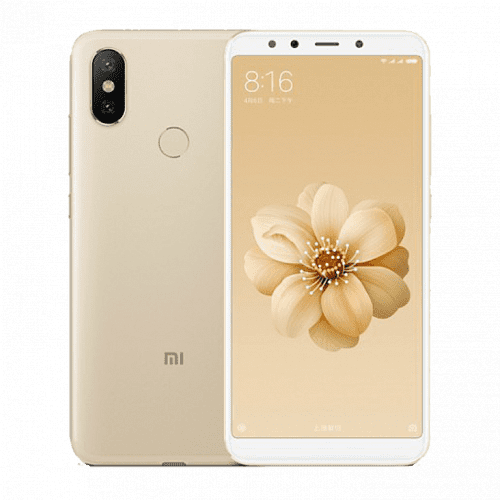 Смартфон Xiaomi Mi A2 4/64GB (Gold) Global EU