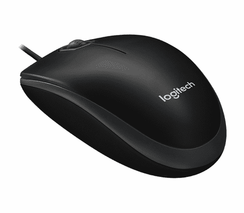 Мышь Logitech B-100 Optical Mouse UA
