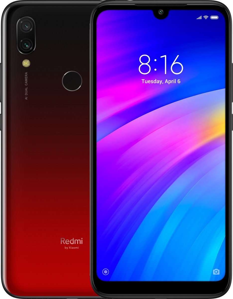 Смартфон Xiaomi Redmi 7 2/16GB (Lunar Red)