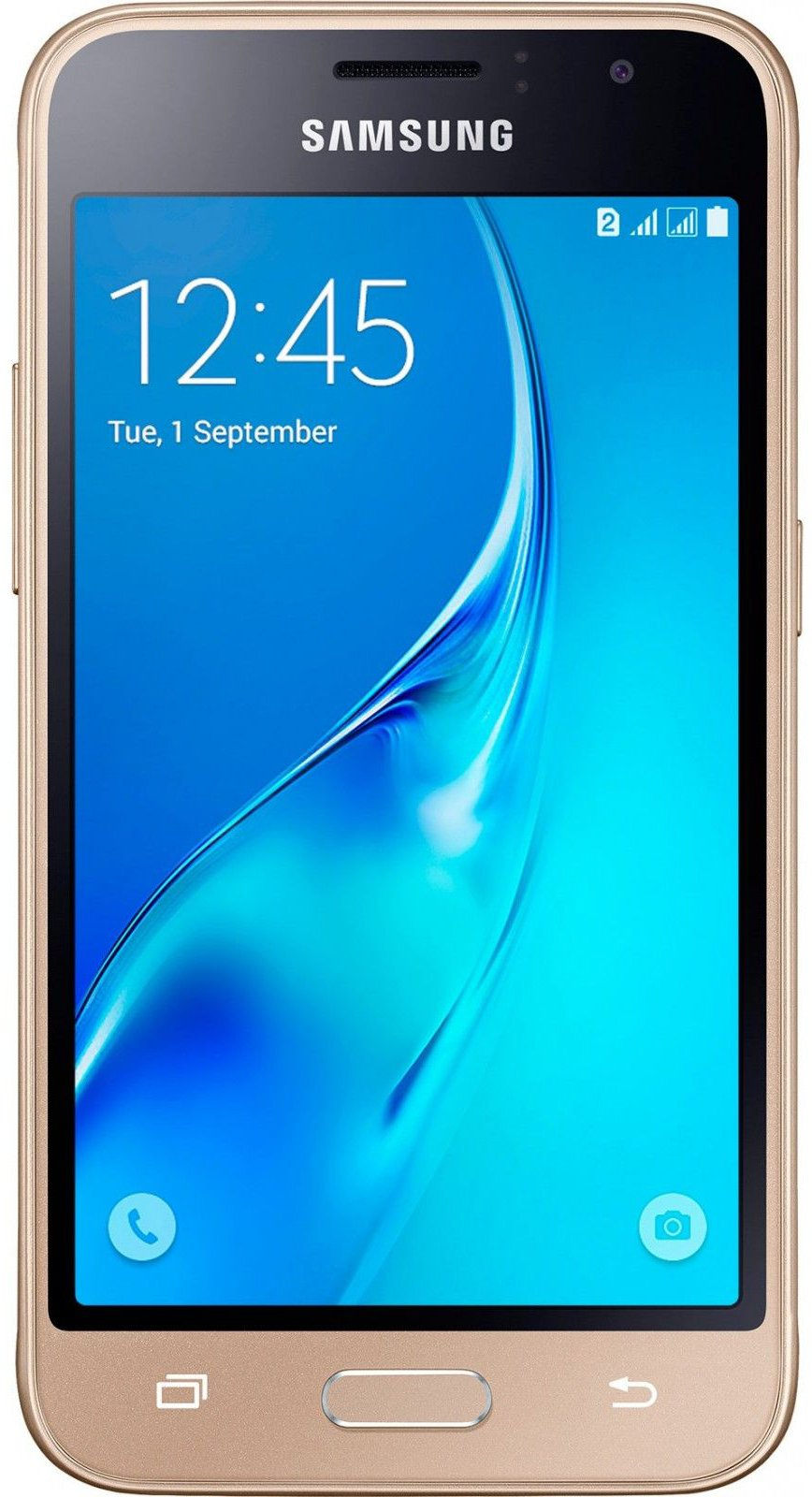 Купить Смартфон Samsung Galaxy J1 2016 Gold (SM-J120HZDD) UA-UCRF