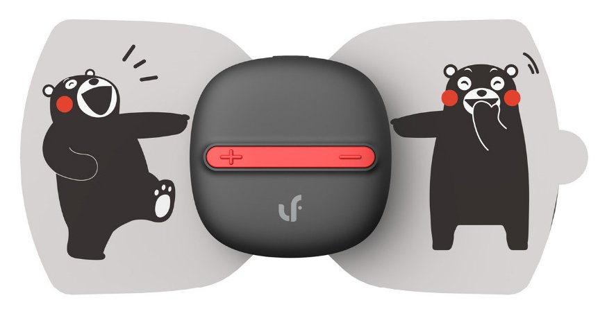 Массажер Xiaomi Mi Home Electrical TENS Pulse Kumamon Special Edition  (Gray)