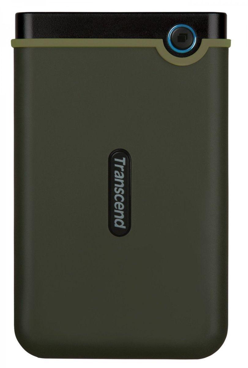 Купить Компьютерная периферия, Внешний жесткий диск Transcend StoreJet 25M3G 2 TB Military Green (TS2TSJ25M3G)