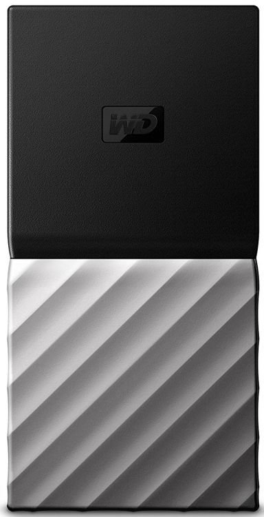 Купить Внешний жесткий диск WD My Passport 256GB USB 3.1 Gen 2 Black (WDBKVX2560PSL-WESN), Western Digital