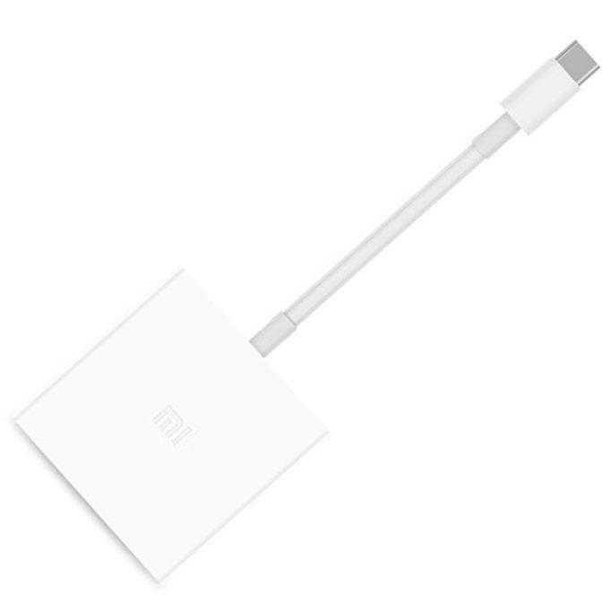 Купить Xiaomi Type-C to USB HDMI Conversion Adapter (переходник)
