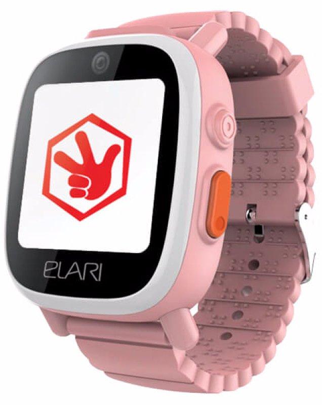 Купить Детский телефон-часы с GPS трекером FixiTime 3 Pink (ELFIT3PNK) UA