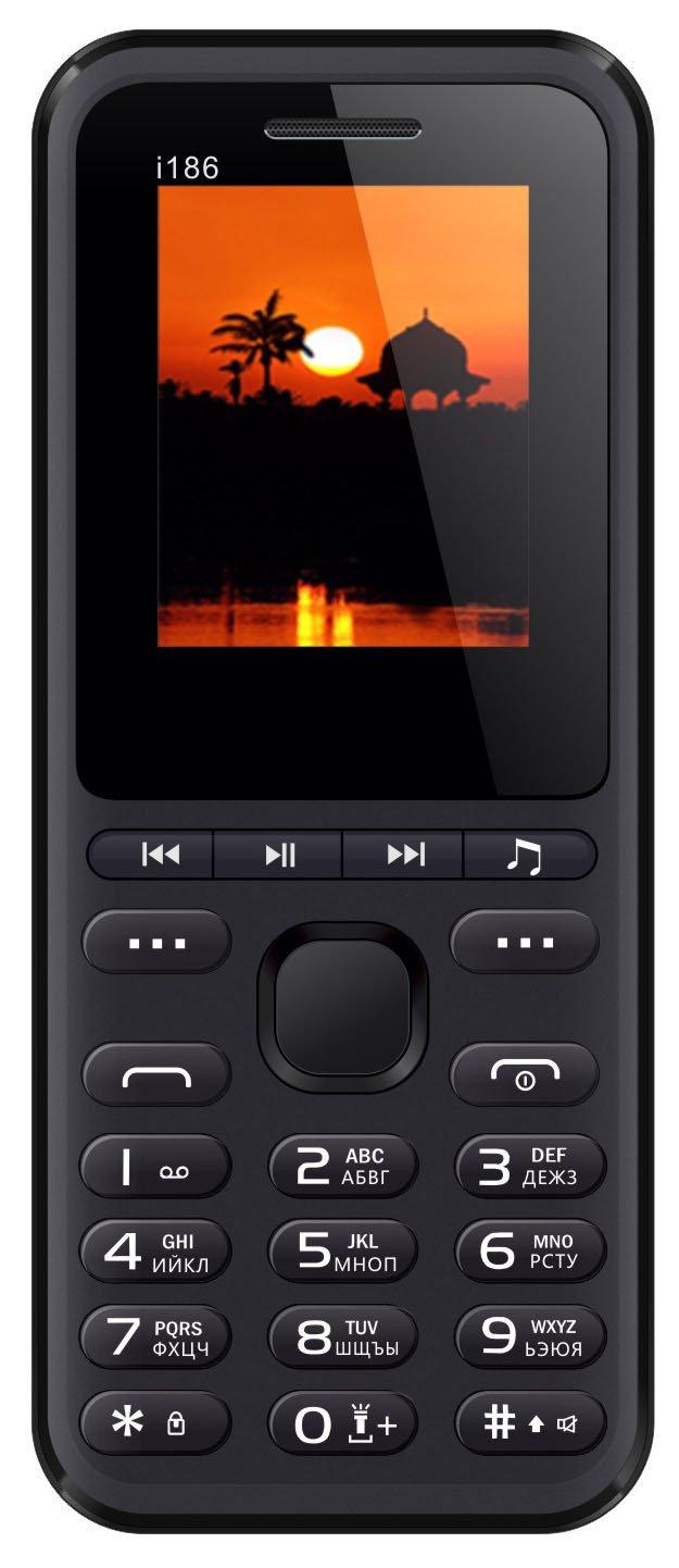 Купить Мобильный телефон Nomi i186 (Black)