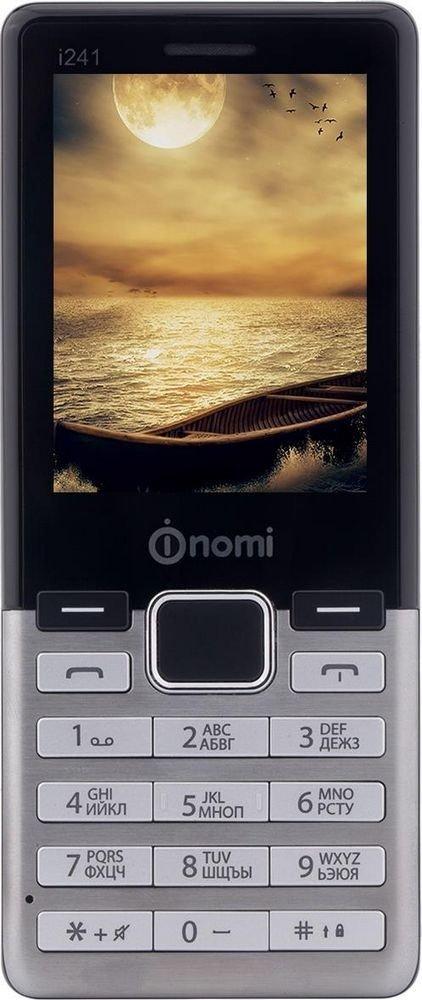 Купить Мобильный телефон Nomi i241 (Metal Steel)