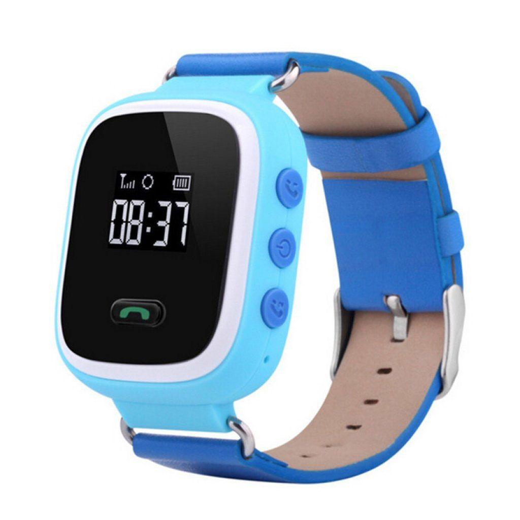 Купить Smart Baby Q60 GPS Blue (детские смарт часы)