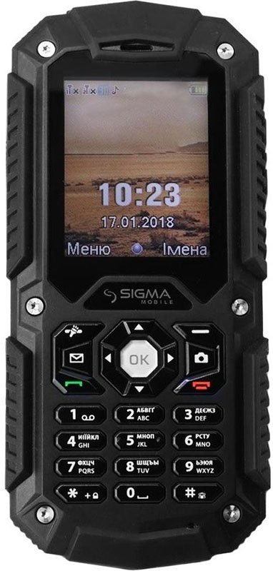 Купить Мобильный телефон Sigma mobile X-treme PQ67 (Black) UA-UCRF