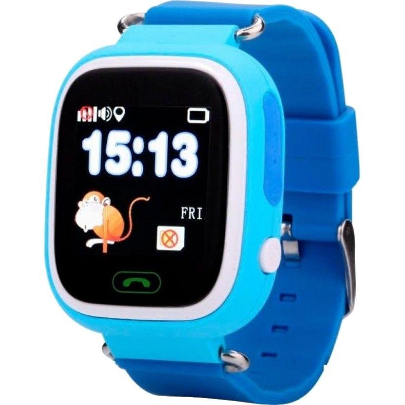 Детские умные часы Smart Baby Q100 (Blue)  - купить со скидкой
