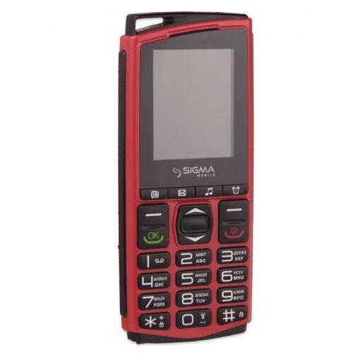 Купить Мобильный телефон Sigma Comfort 50 mini 4 (Black-Red) UA-UCRF, Sigma mobile
