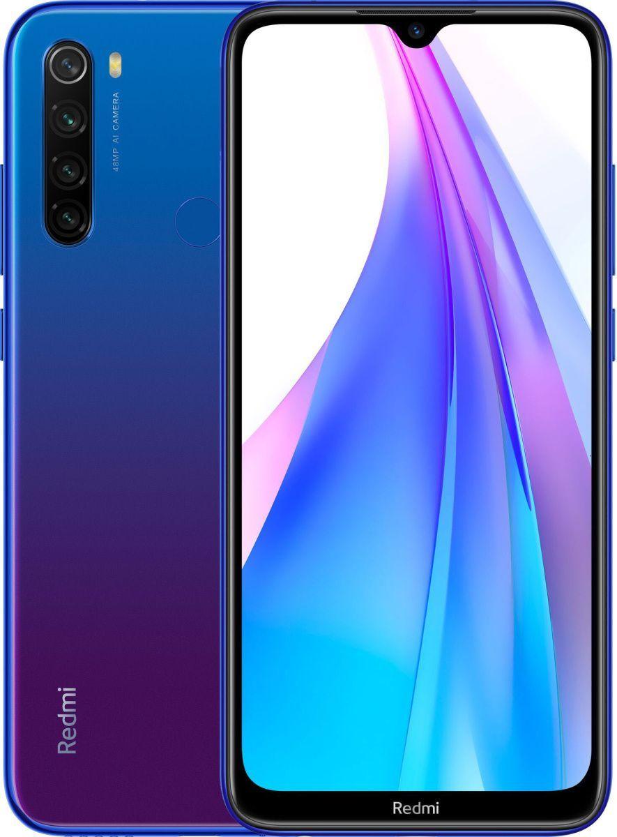 Смартфон Xiaomi Redmi Note 8T 4/128Gb (Blue) Global EU