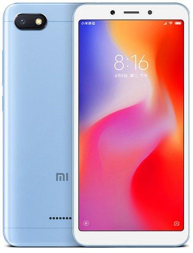 Купить Смартфон Xiaomi Redmi 6A 2/16Gb (Blue) Global EU