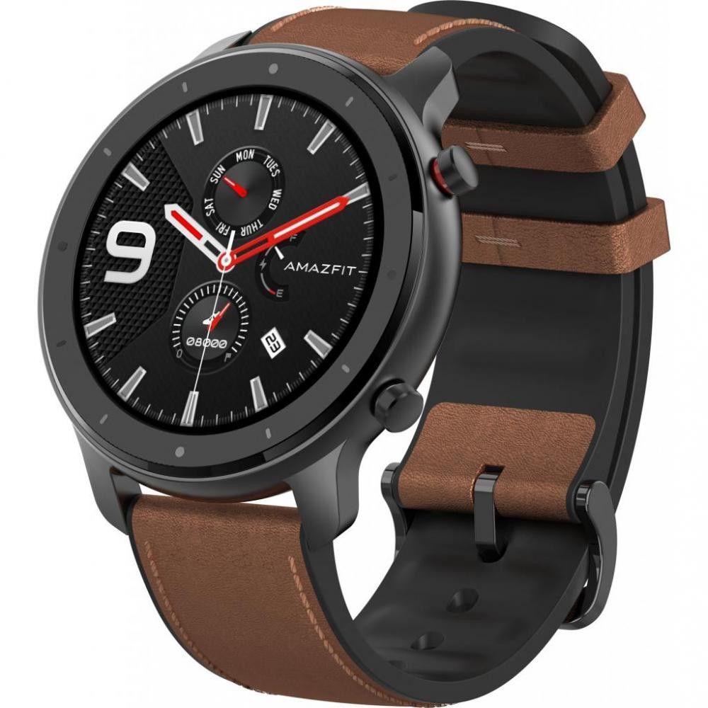 Купить Смарт-часы и фитнес-браслеты, Смарт-часы Xiaomi Amazfit GTR 47mm (Aluminum Alloy)