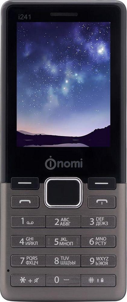 Купить Мобильный телефон Nomi i241 (Metal Dark-Grey)