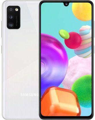 Смартфон Samsung Galaxy A41 4/64GB White (SM-A415FZWD) UA-UCRF