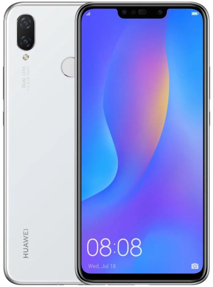 Купить Смартфон HUAWEI P Smart Plus 4/64GB White (51093DYA) UA-UCRF