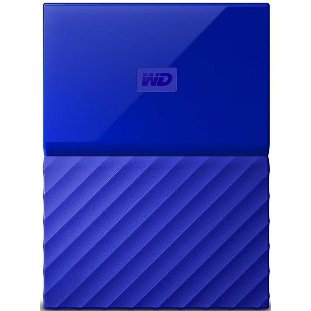 Купить Внешний жесткий диск WD My Passport 2TB Blue (WDBS4B0020BBL-WESN), Western Digital