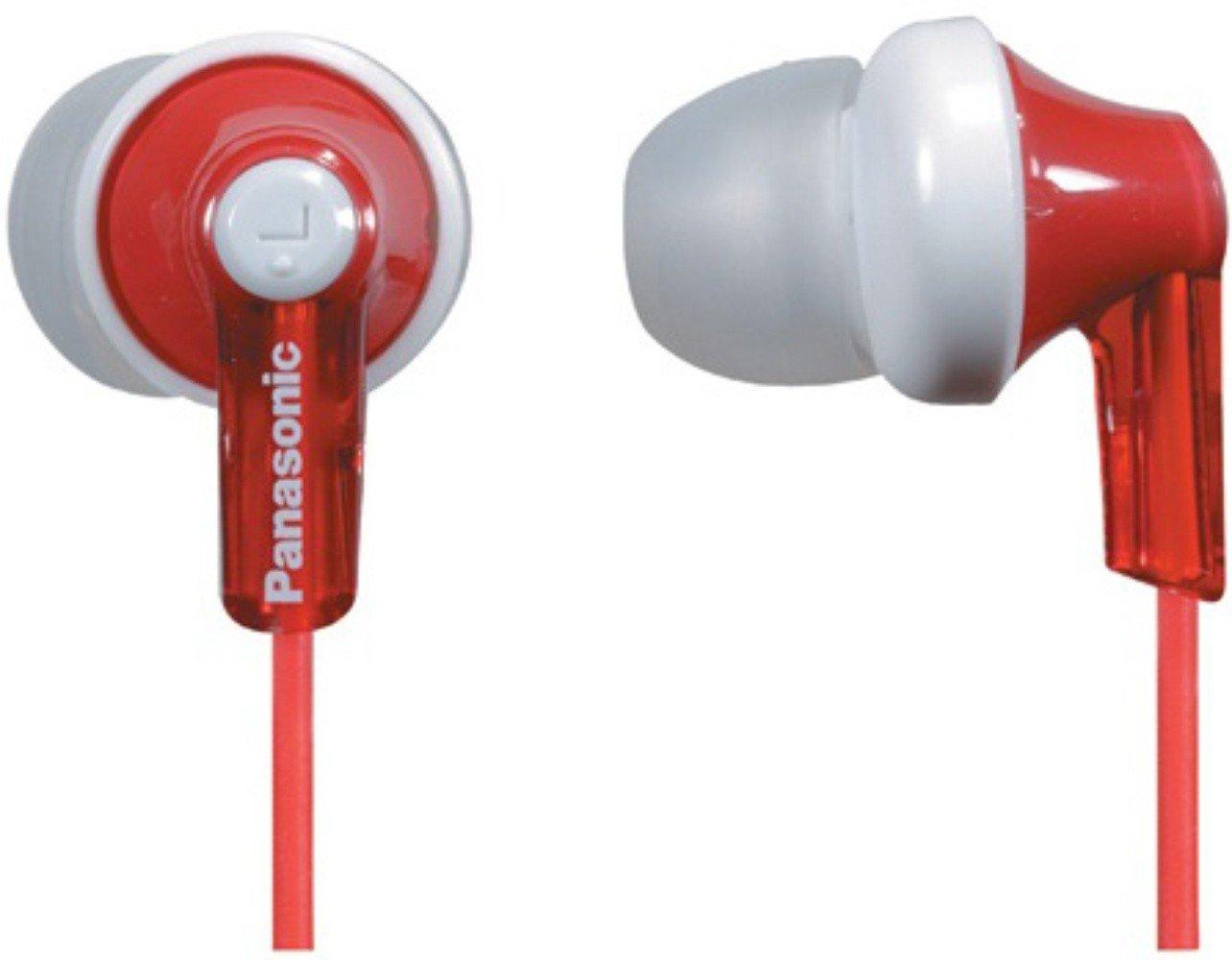 Купить Наушники Panasonic RP-HJE118GU-R Red UA