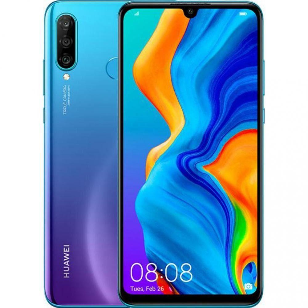 Купить Смартфоны, Смартфон Huawei P30 Lite 4/64GB Peacock Blue (51094VBV) UA-UCRF