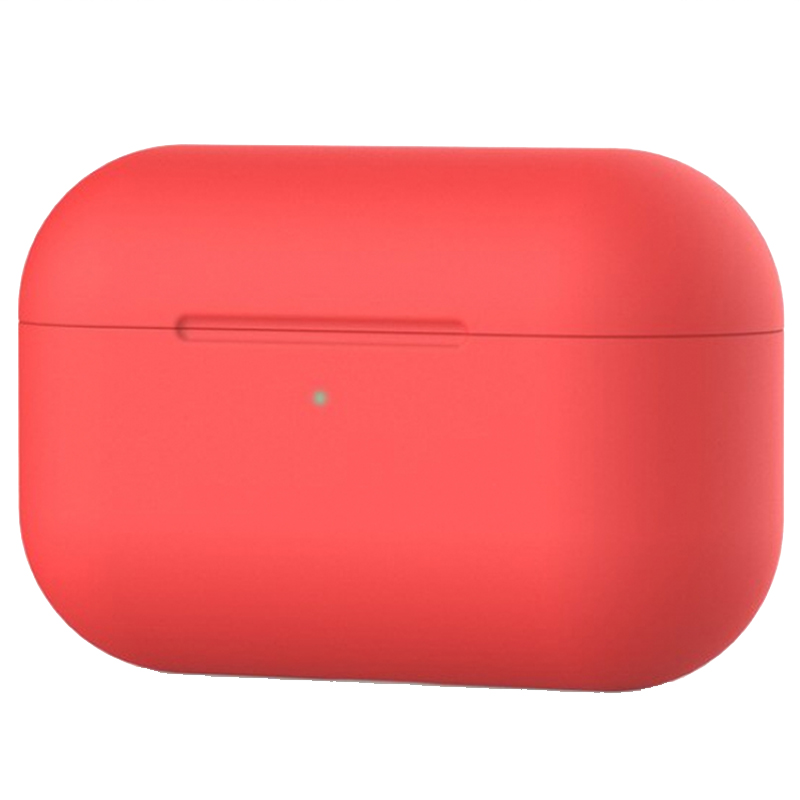 Чехол Ultrathin Silicone Case для AirPods Pro (Red)
