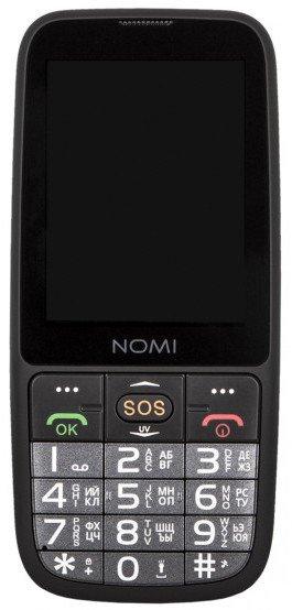 Купить Мобильный телефон Nomi i281 (Black)