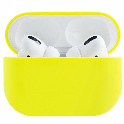 Чехол Ultrathin Silicone Case для AirPods Pro (Yellow)