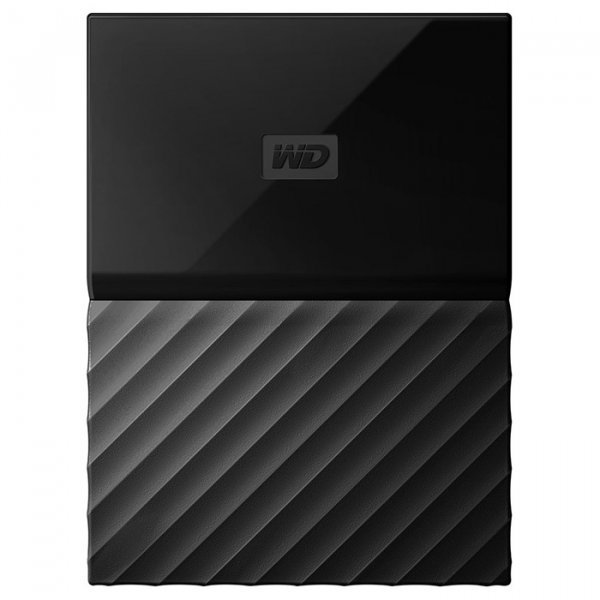 Купить Внешний жесткий диск WD My Passport 1TB USB3.0 Black (WDBYNN0010BBK-WESN), Western Digital