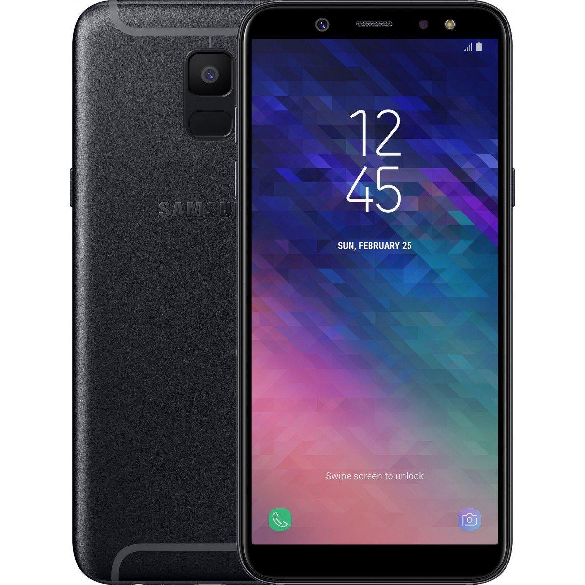 Купить Смартфон Samsung Galaxy A6 2018 3/32GB (Black) UA-UCRF