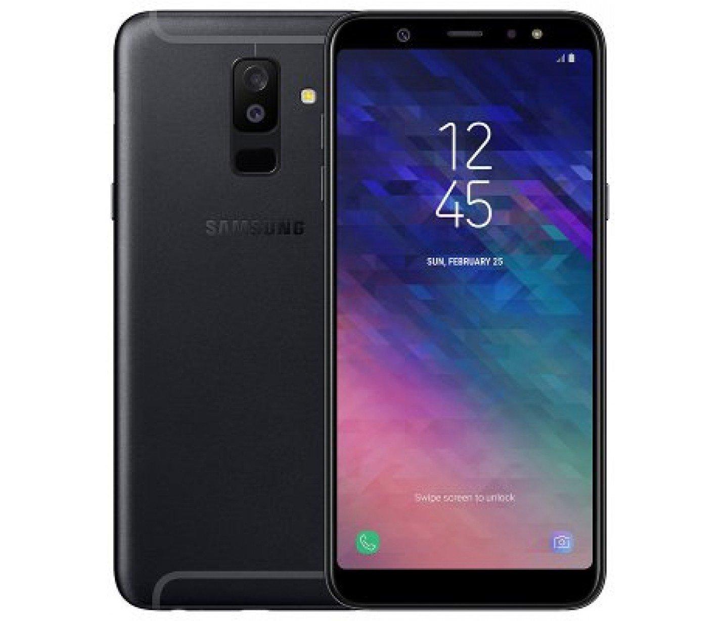 Купить Смартфон Samsung Galaxy A6+ 2018 3/32GB (Black) UA-UCRF