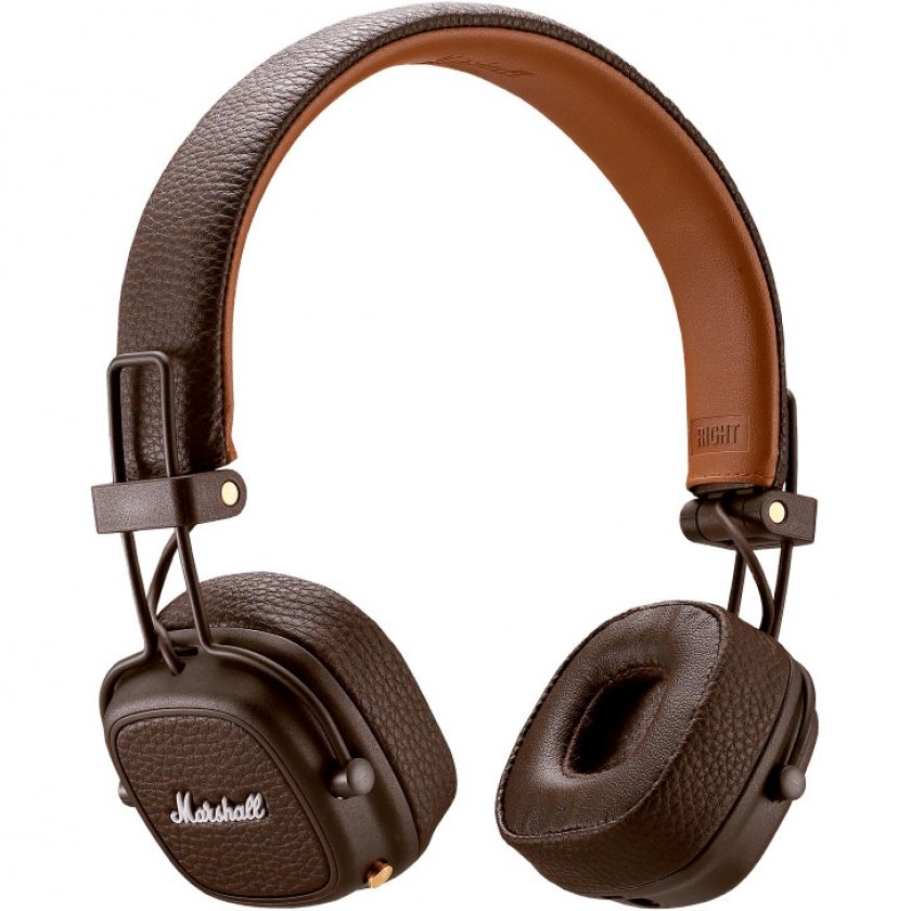 Купить Наушники Marshall Major III Bluetooth Brown (4092187)