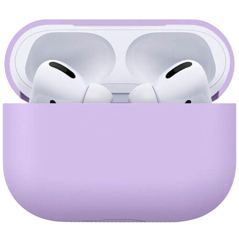 Чехол Ultrathin Silicone Case для AirPods Pro (Purple)
