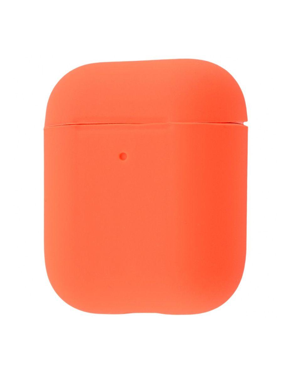 Чехол для наушников Apple AirPods 2 Silicone Case (Papaya)