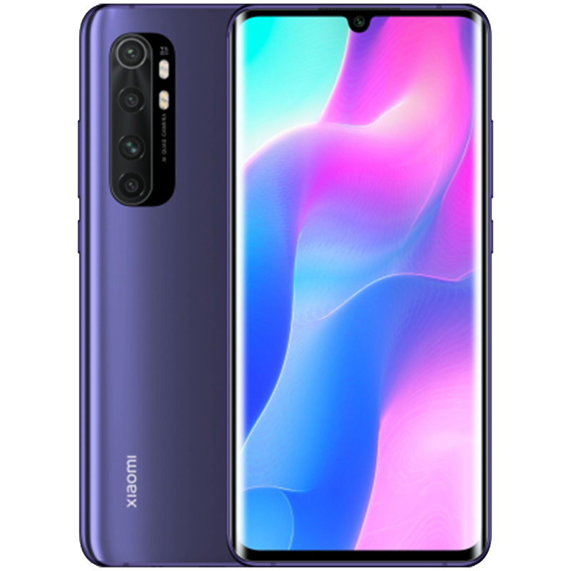 Смартфон Xiaomi Mi Note 10 Lite 6/128Gb (Nebula Purple) Global  EU