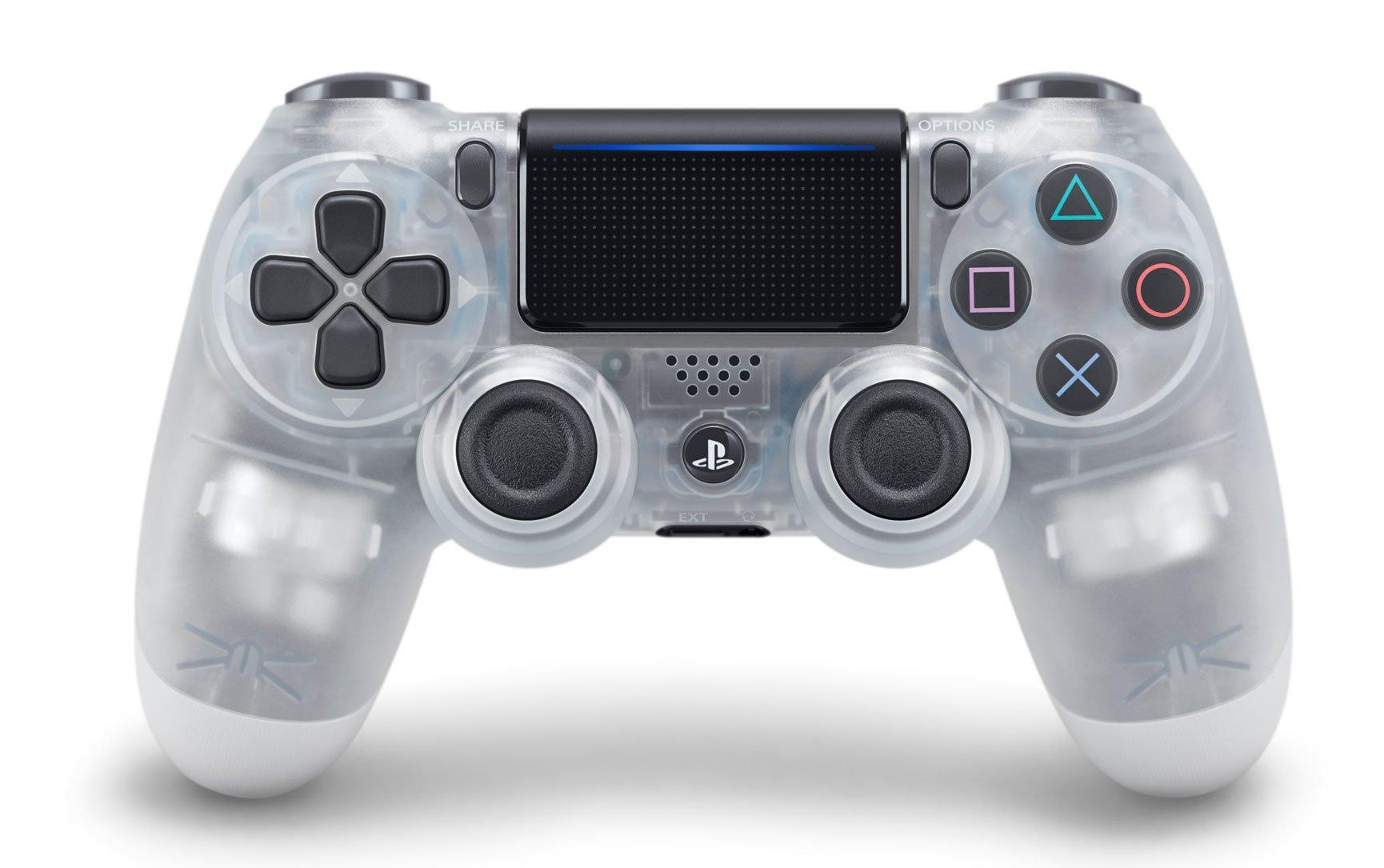 Геймпад Sony Dualshock 4 V2 (Crystal)
