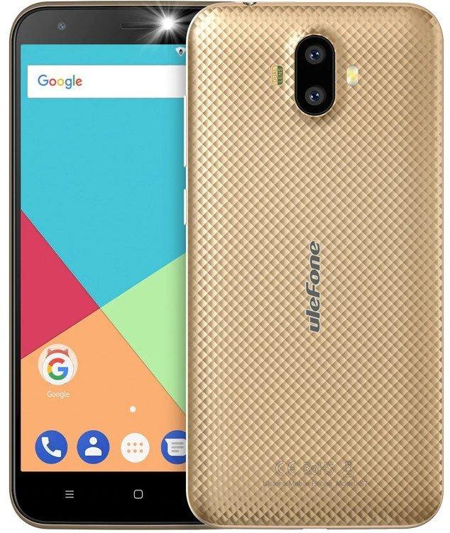 Купить Смартфон Ulefone S7 1/8GB (Gold) UA-UCRF