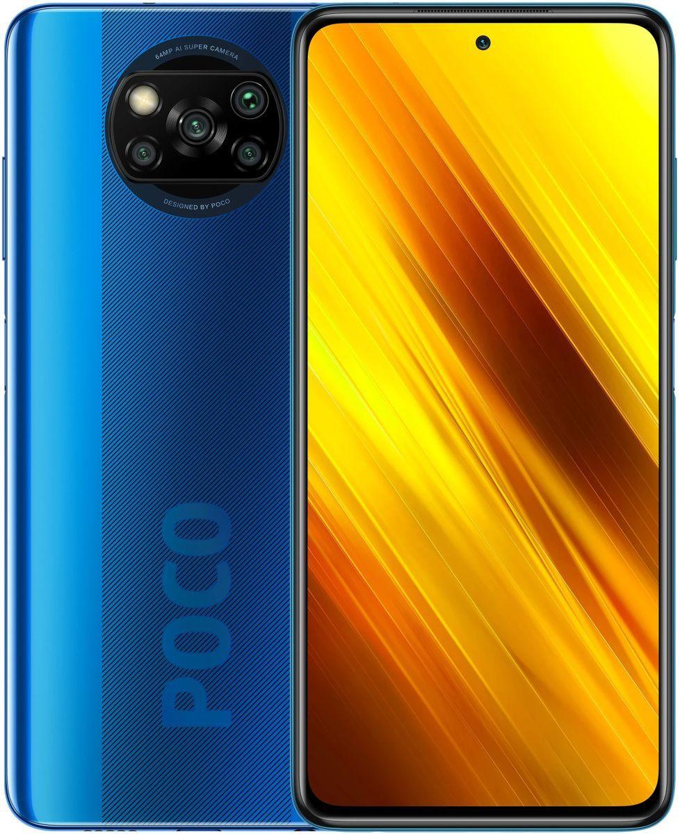 Смартфон Xiaomi Poco X3 6/128GB (Blue) Global EU