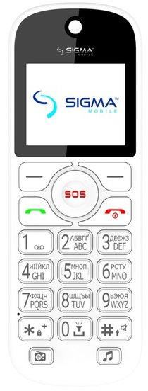Купить Мобильный телефон Sigma mobile Comfort 50 Senior (White)