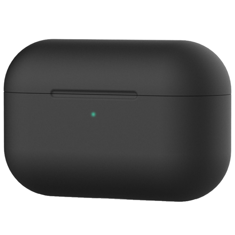Чехол Ultrathin Silicone Case для AirPods Pro (Black)