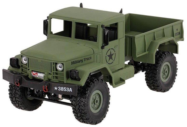 Купить Радиоуправляемый военный грузовик HENG LONG 3853A 1:16 Off-road Military Truck (Green)