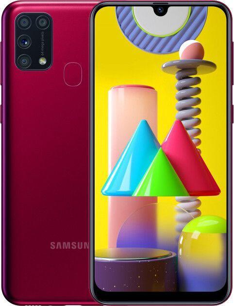 Смартфон Samsung Galaxy M31 6/128GB Red (SM-M315FZRU) UA-UCRF