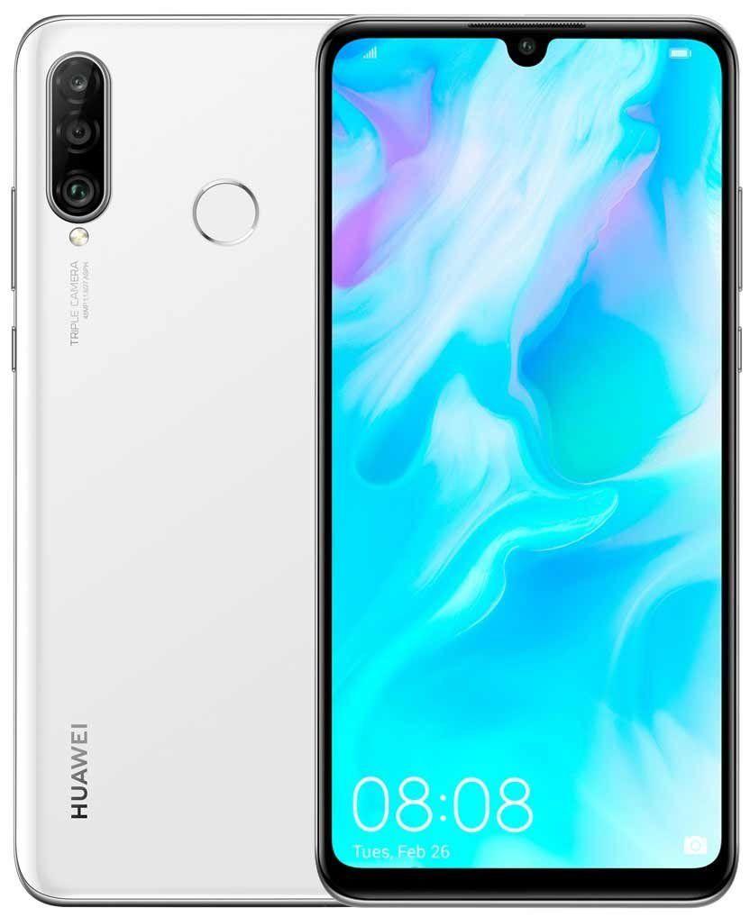 Купить Смартфоны, Смартфон Huawei P30 Lite 4/128GB White (51093PUW) UA-UCRF