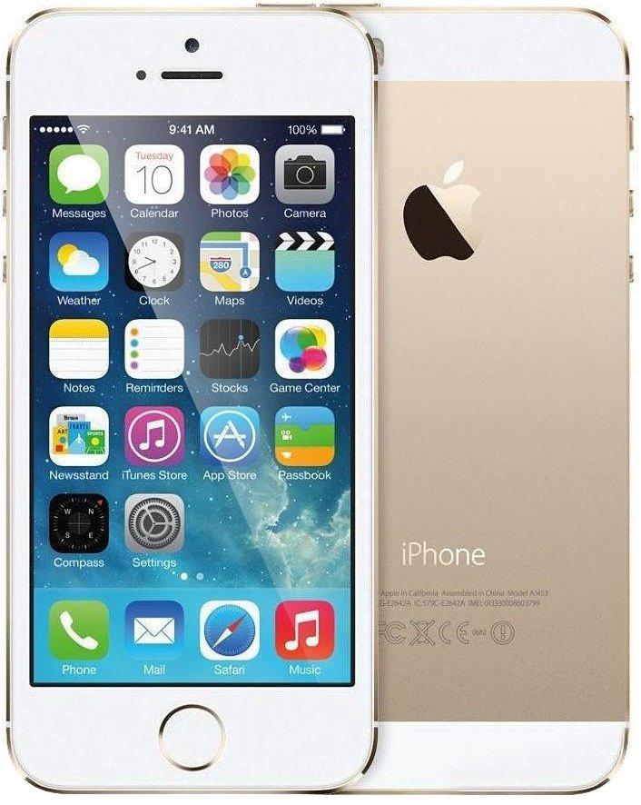Apple iPhone 5S 16Gb Gold (MLXM2)