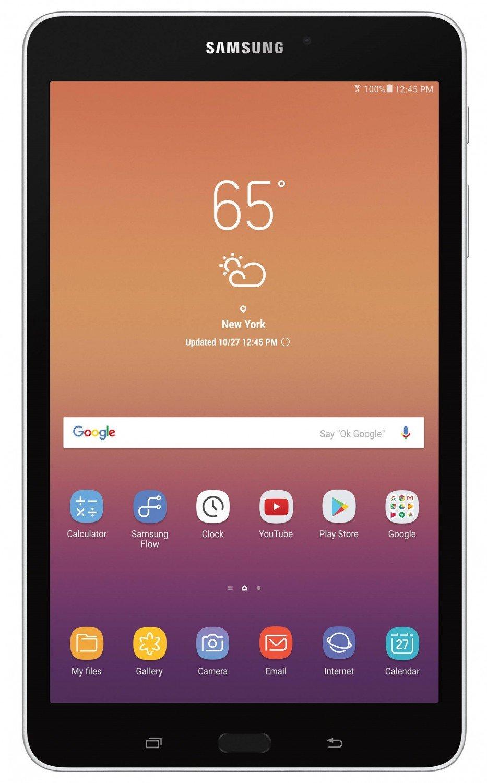 Планшет Samsung Galaxy Tab A 8.0 (2017) SM-T385 LTE Silver (SM-T385NZSA)  UA-UCRF