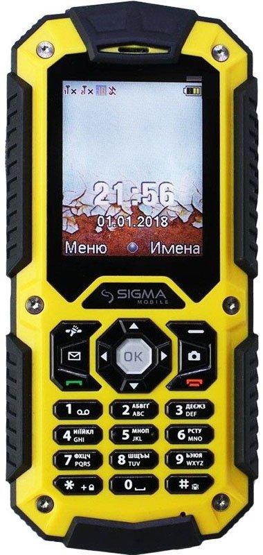 Купить Мобильный телефон Sigma mobile X-treme PQ67 (Yellow-Black) UA-UCRF
