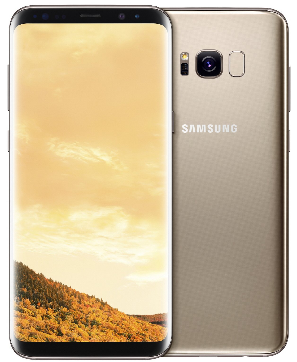 Купить Смартфон Samsung G955FD Galaxy S8+ 64GB Dual sim Maple Gold (SM-G955FZDD), Samsung Galaxy S