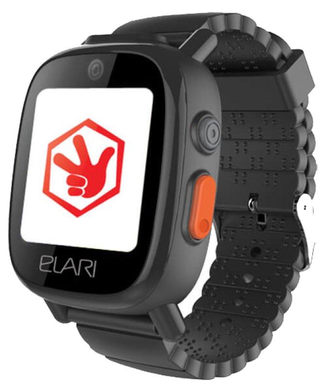 Купить Детский телефон-часы с GPS трекером FixiTime 3 Black (ELFIT3BLK) UA