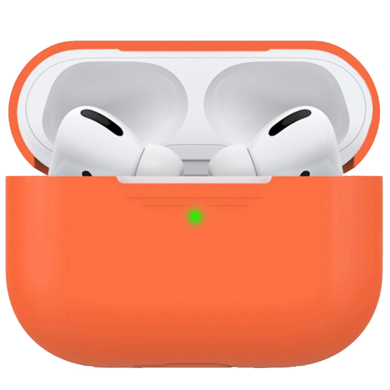 Чехол Ultrathin Silicone Case для AirPods Pro (Orange)