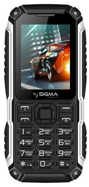 Купить Мобильный телефон Sigma mobile X-treme PT68 (Black) UA-UCRF